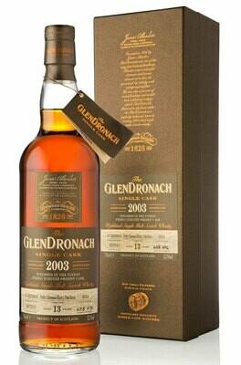 GlenDronach 2003 Single Cask PX 55.6% 70CL