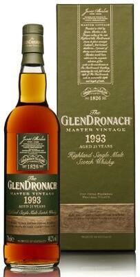 GlenDronach 1993 25 years 48.2%  PX/Oloroso
