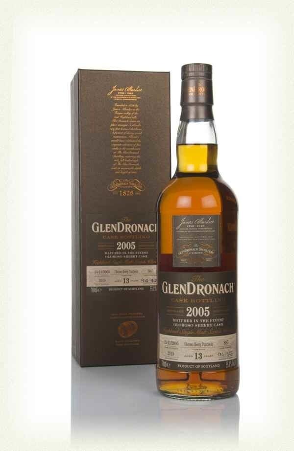 GlenDronach Cask Bottling 2005 13 years 55.1% 70CL