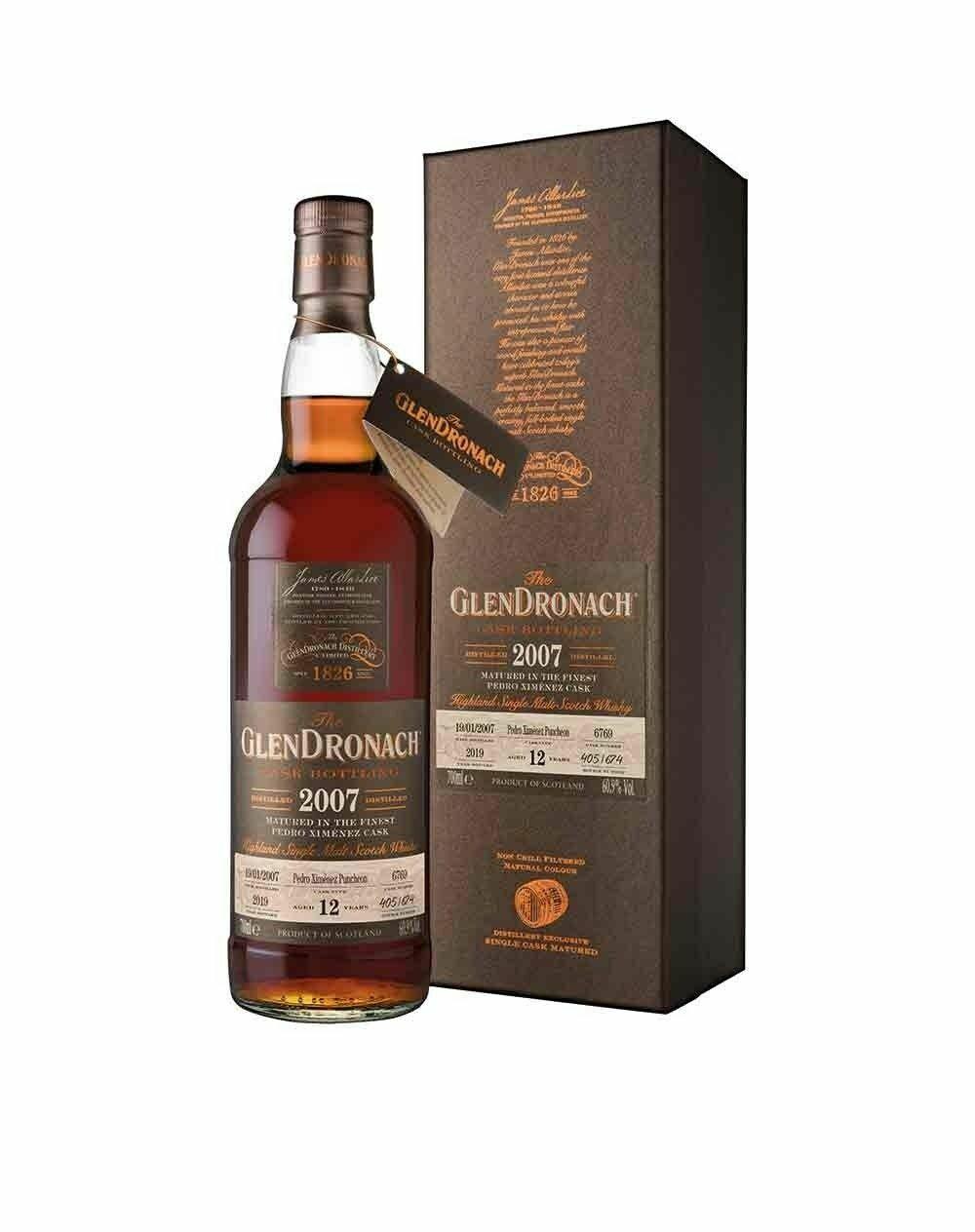 GlenDronach Cask Bottling 2007 PX 60.9% 70CL