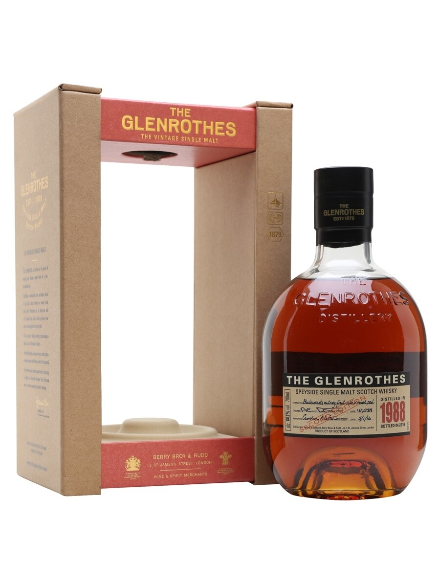 Glenrothes 1988 28Years 44.1% 70CL