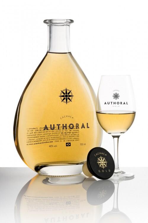 Authoral Gold Cachaça 40% 70CL
