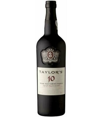 Taylor's 10 year old tawny port 20% 75CL