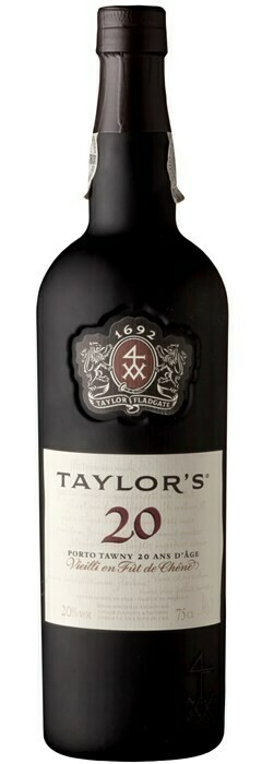 Taylor's 20 year Old Tawny Port 20% 75CL
