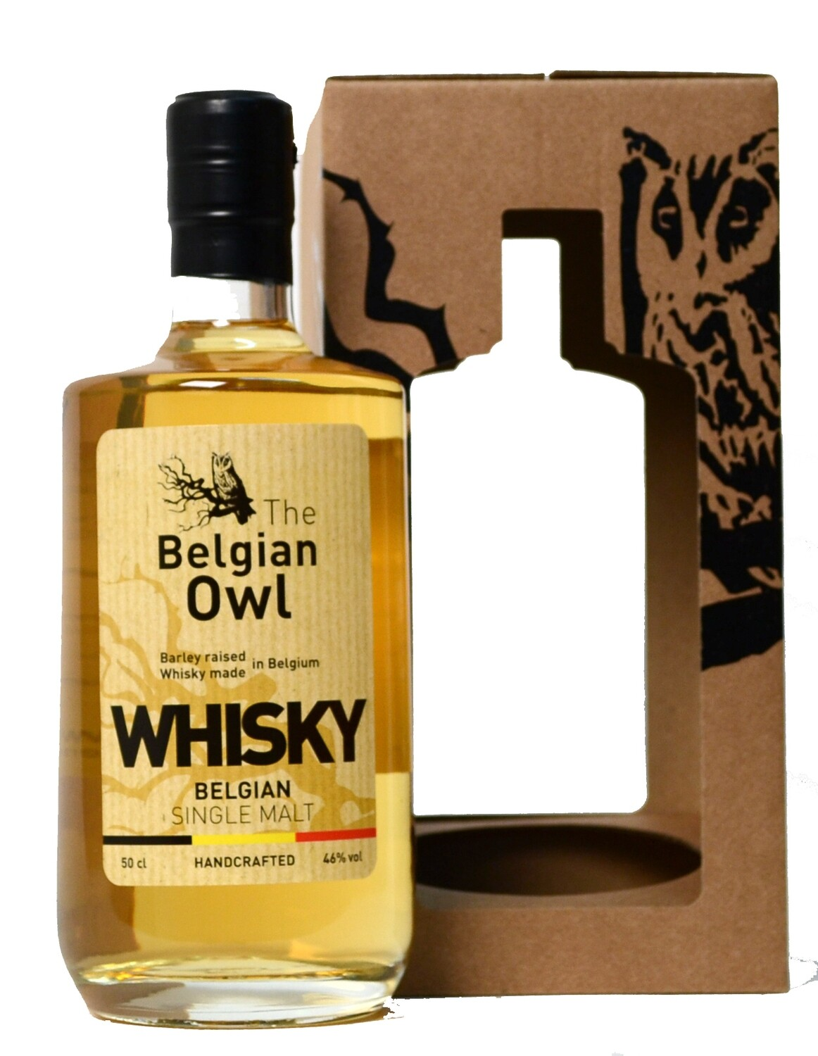 Belgian Owl Whisky Single Cask 60 months 46% 70CL