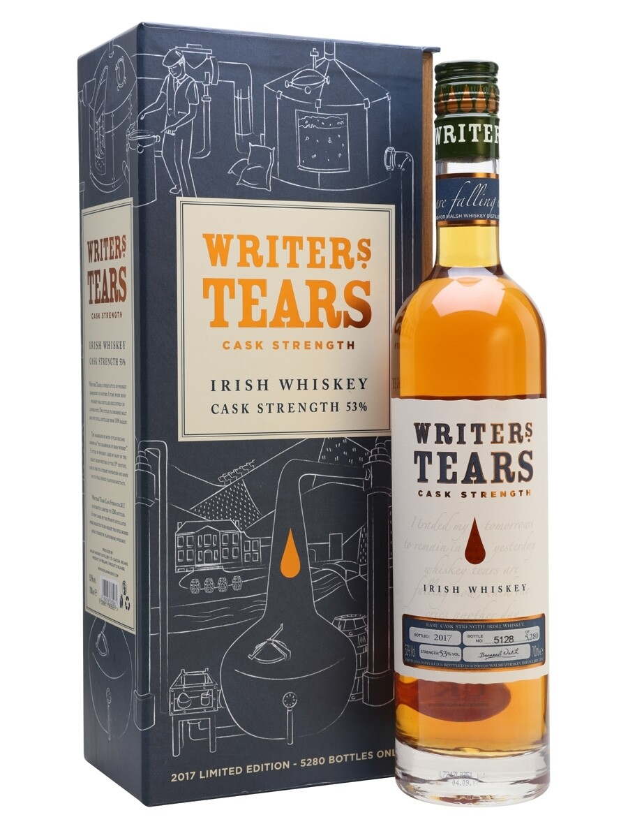 Writers Tears Cask Strenght 53%