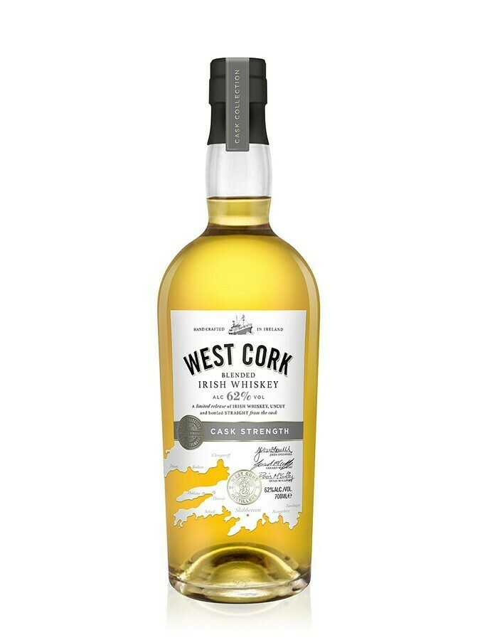 West Cork Blended Irish Whiskey 62% 70CL