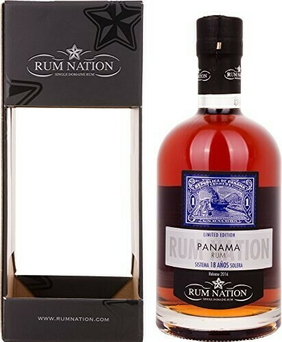 Rum Nation Panama 18 Years 40% 70CL
