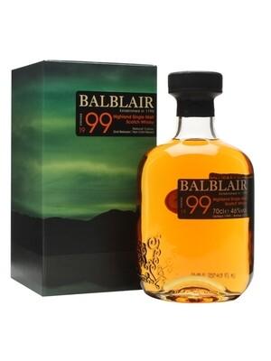 Balblair 1999 2nd Release 46% 70CL