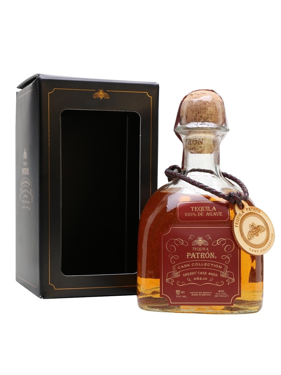 Tequila Patron Cask Collection Sherry Cask Anejo 40% 70CL