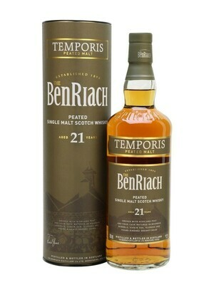 BenRiach Peated 21 years Temporis Peated Malt 46% 70 CL