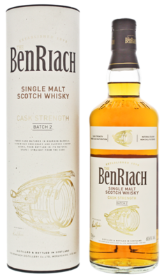 BenRiach Cask Strenght Batch 2 60.6% 70CL