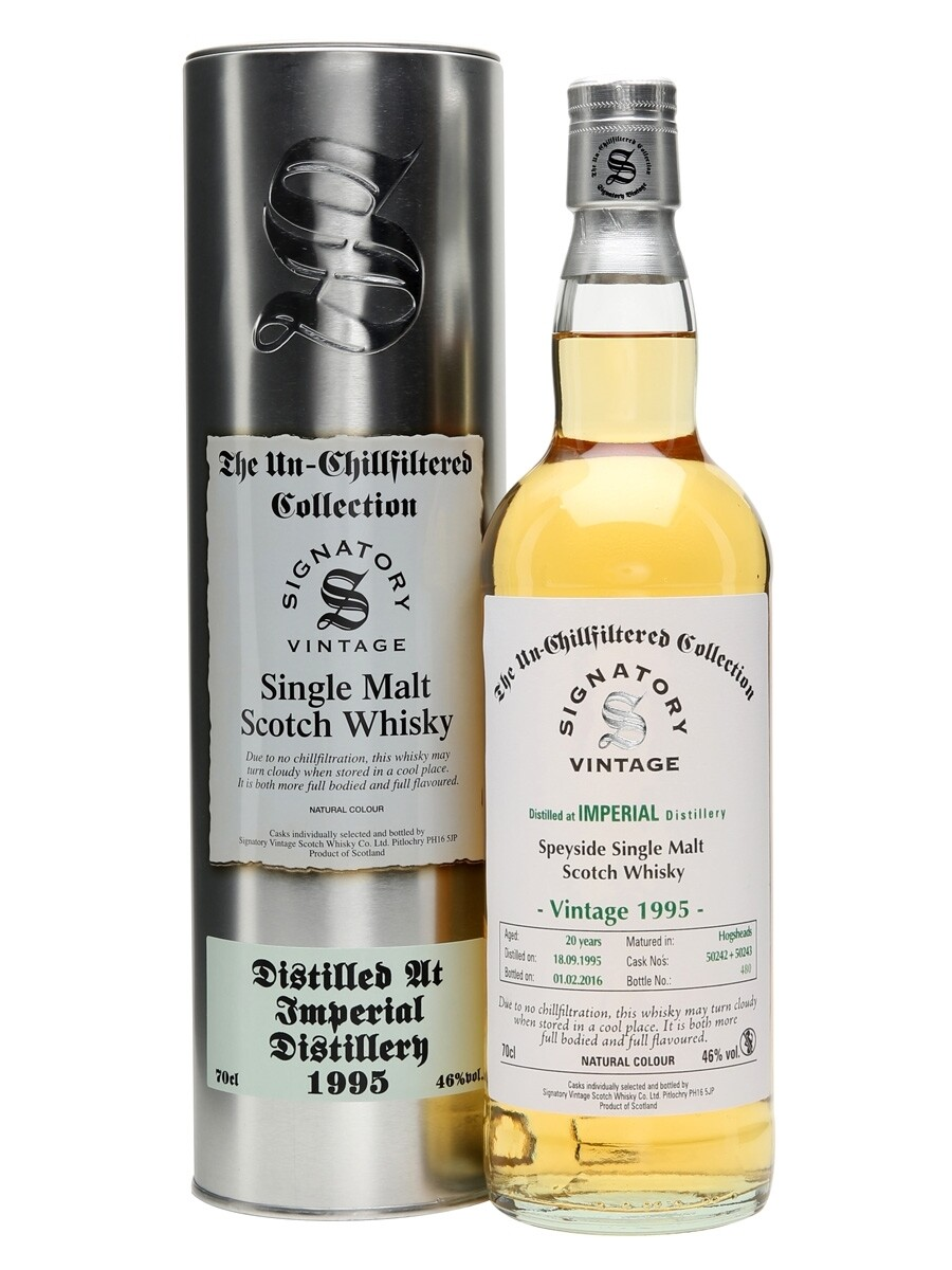 Imperial 20 Years Signatory 46% 70CL