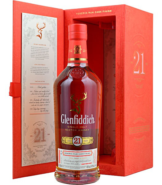 Glenfiddich 21 Years 40% 70CL