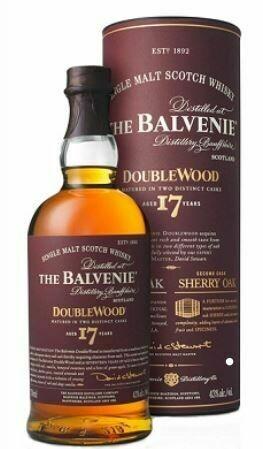 The Balvenie 17 Years 43% 70CL