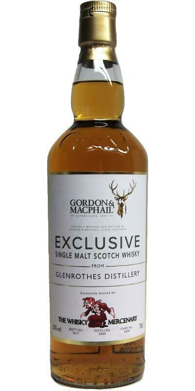 Glenrothes The whisky mercenary 50% 70CL