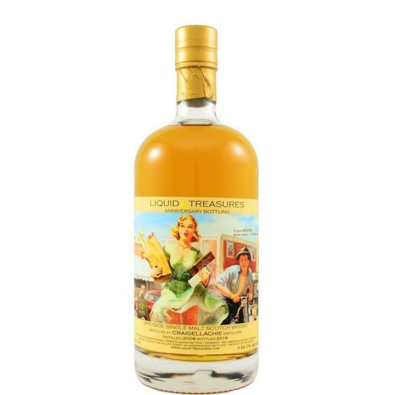 Liquid Treasures Craigellachie 2006 54% 70CL