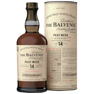 The Balvenie 14 years Peat Week 2002 48.3% 70CL