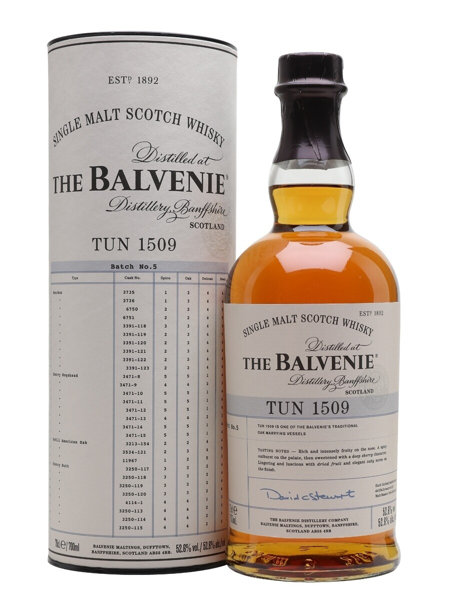 Balvenie TUN 1509 Batch No. 5 52.6% 70CL