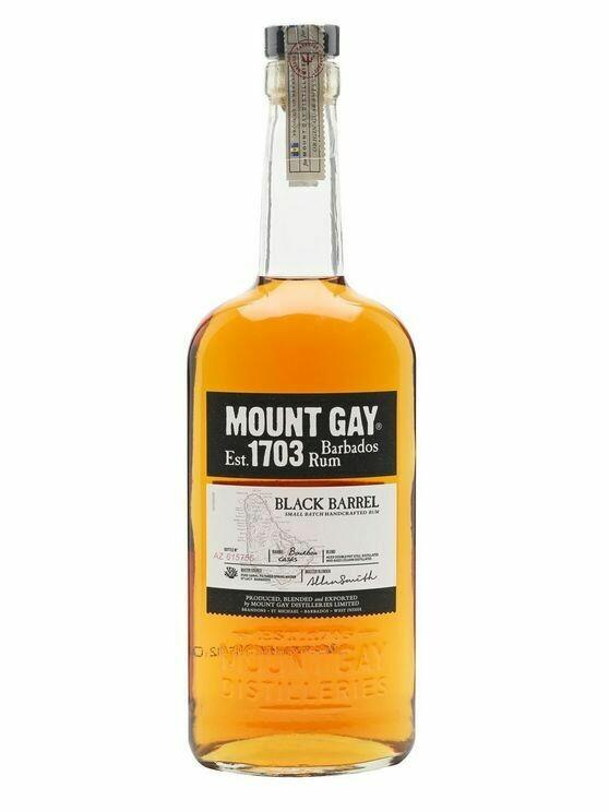 Mout Gay Black Barrel Rum 43% 70CL