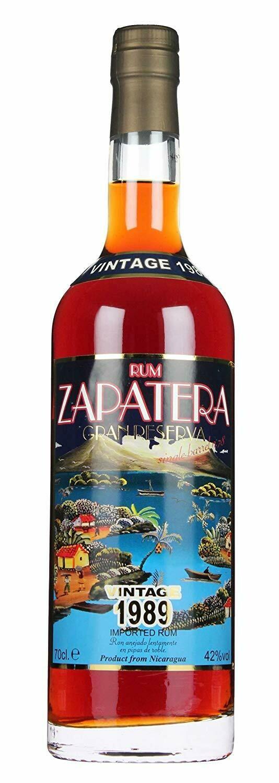 Zapatera Vintage 1989 42% 70CL