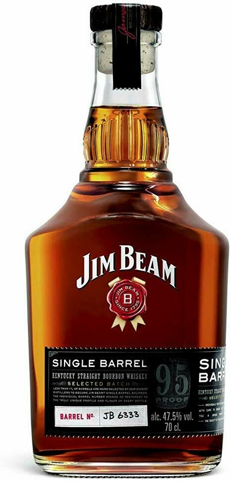 Jim Bean Single Barrel 47.5% 70CL