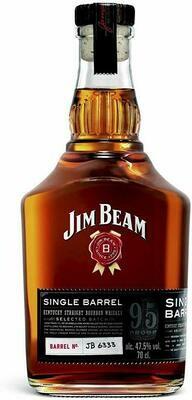 Jim Bean Single Barrel 47.5% 70CL