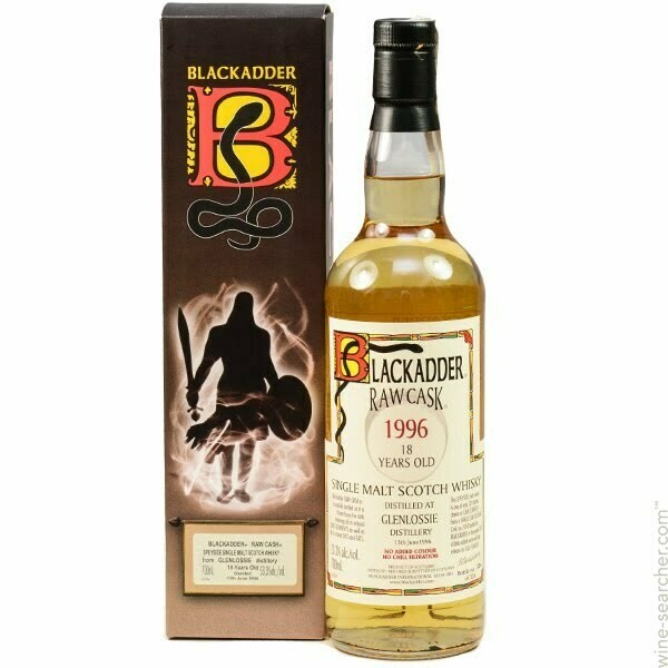 Blackadder Glenlossie 18 Years 53.3% 70CL