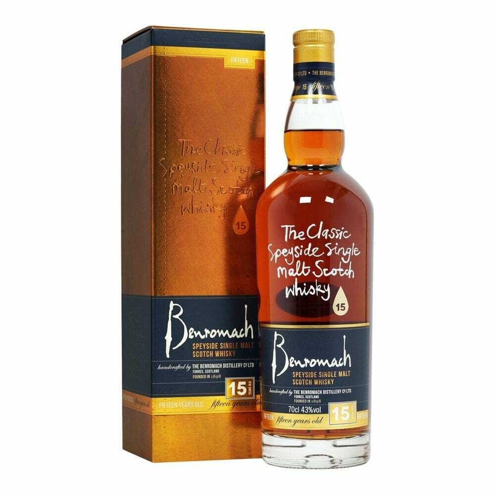 Benromach 15 years 43% 70CL