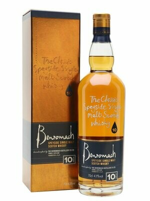 Benromach 10 years 43% 70CL