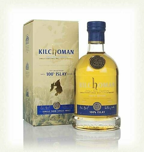 Kilchoman 100% Islay 9th edition 50% 70CL