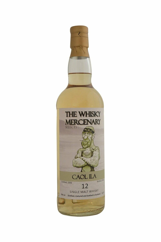 Caol Ila 12 Years The whisky Mercenary 51.8% 70CL