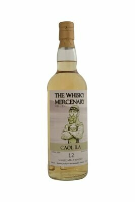 Caol Ila 12 Years The whisky Mercenary 51.8% 70CL