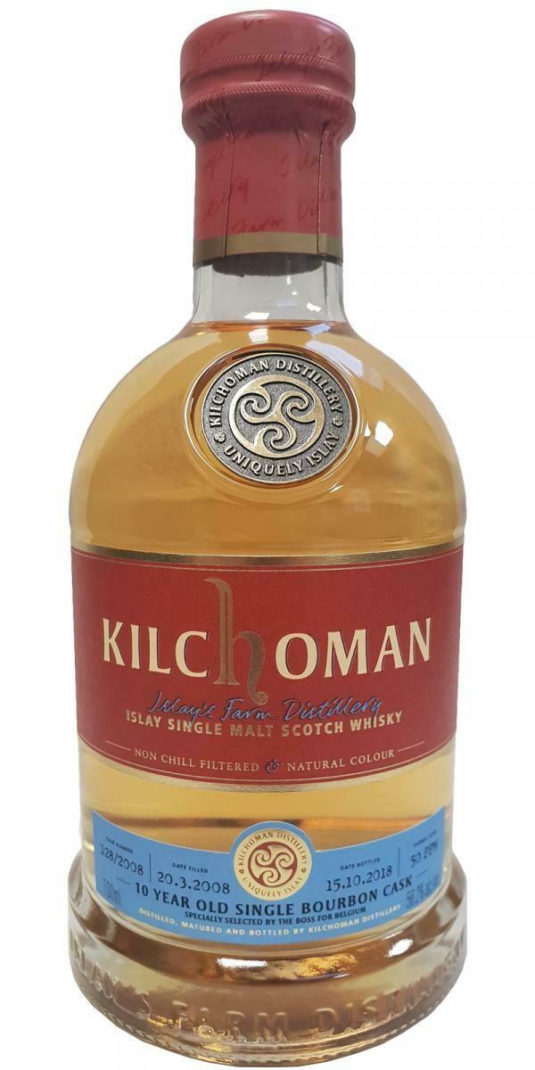 Kilchoman 10 Years Single Bourbon Cask 56.2% 70CL
