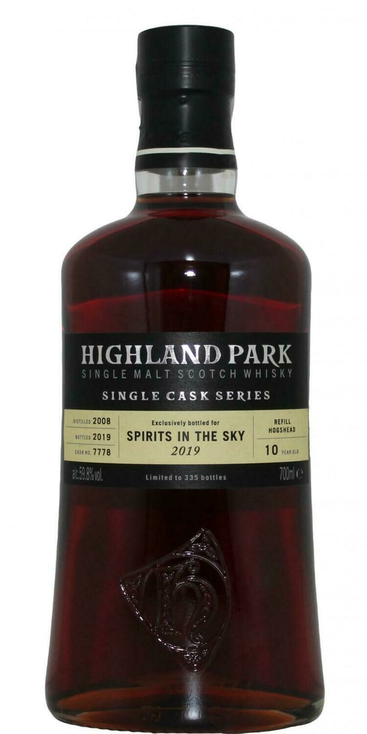 Highland Park Spirits In The Sky 2019 59.8% 70CL