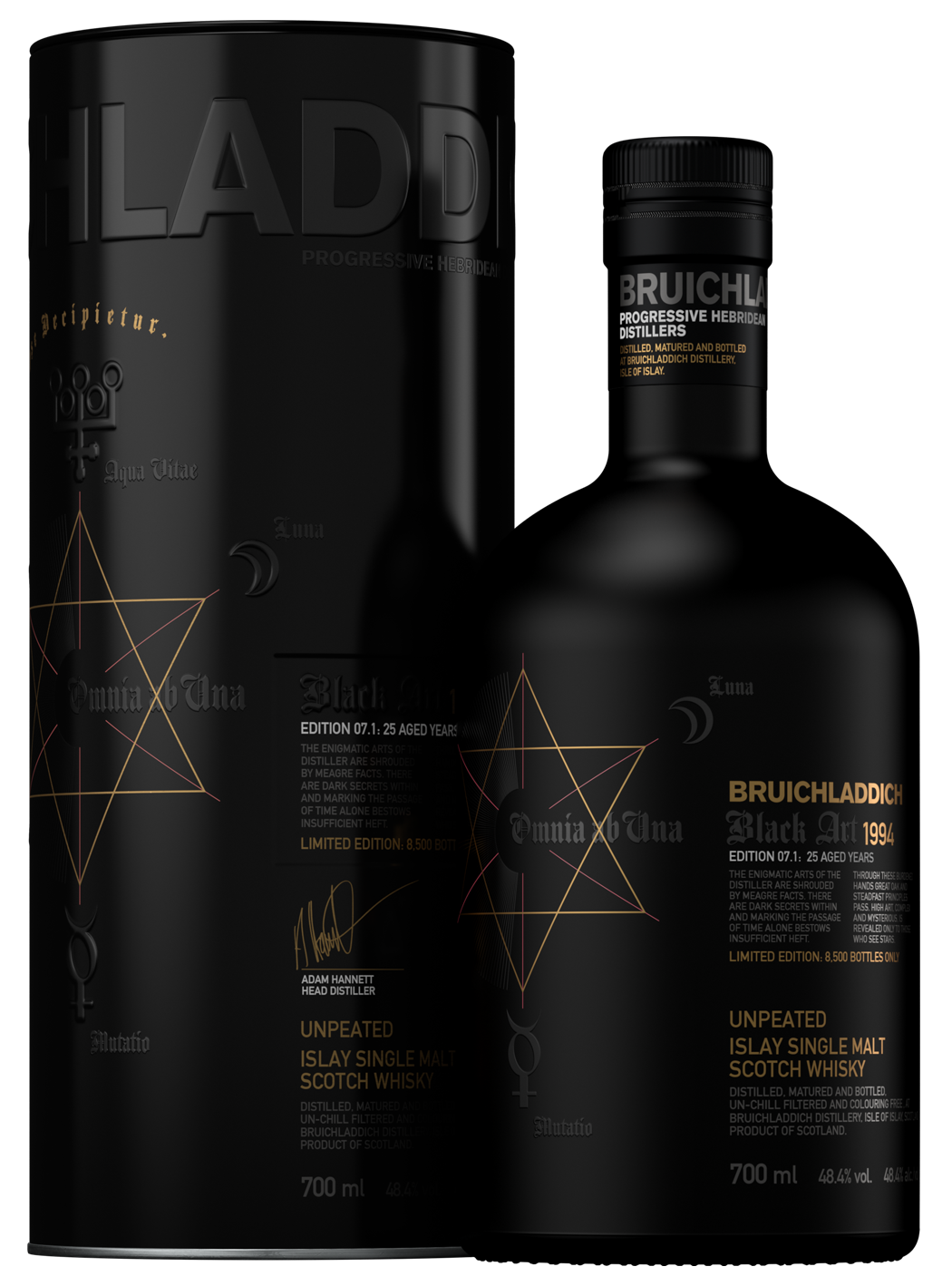Bruichladdich Black Art 1994 07.1 25 Years