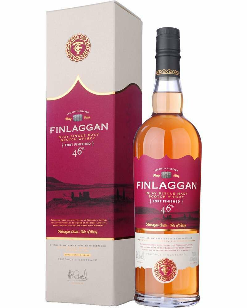 Finlaggan Port Wood Finish 46% 70CL
