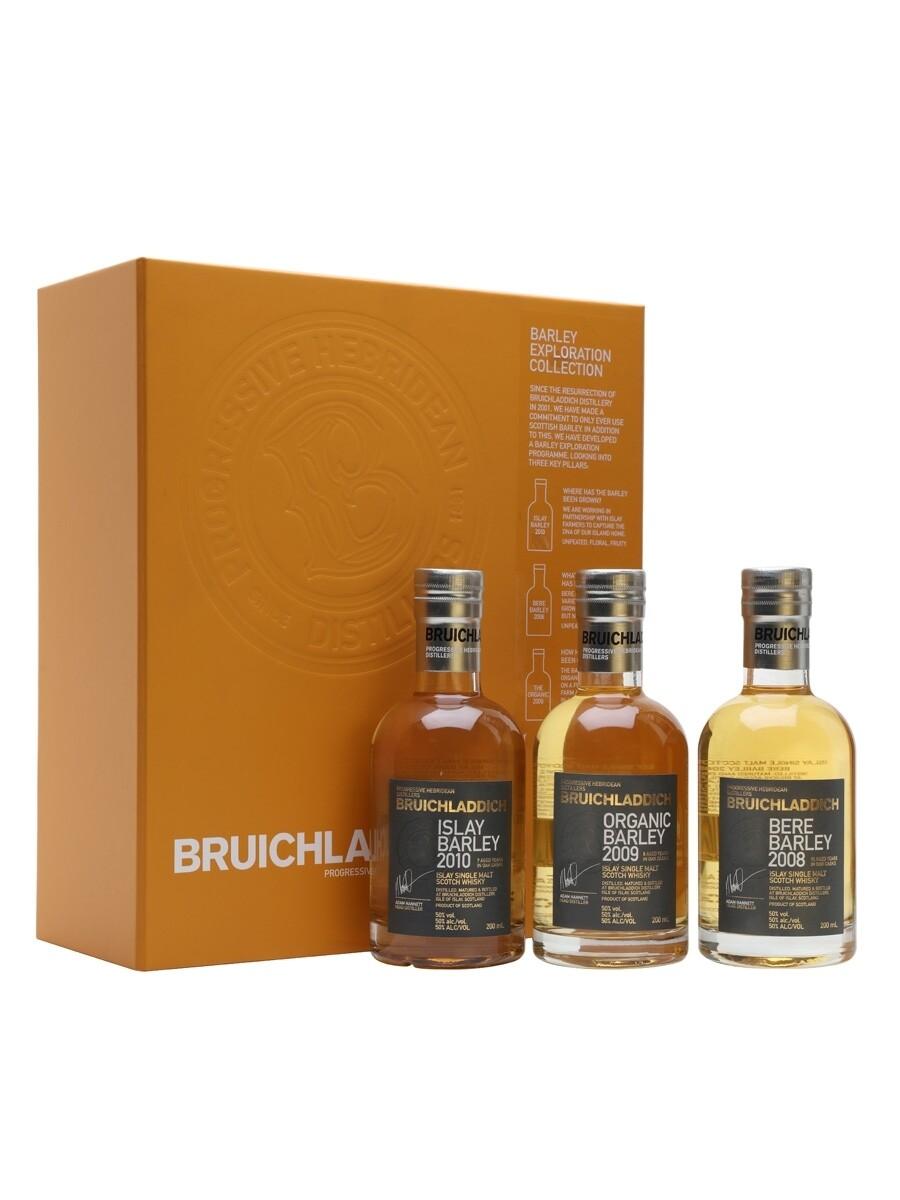 BRUICHLADDICH Barley Exploration Gift Set (3 x 20cl)