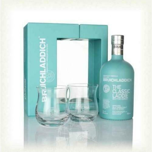 Bruichladdich Laddie Gift Pack + 2 Glazen 50% 70CL