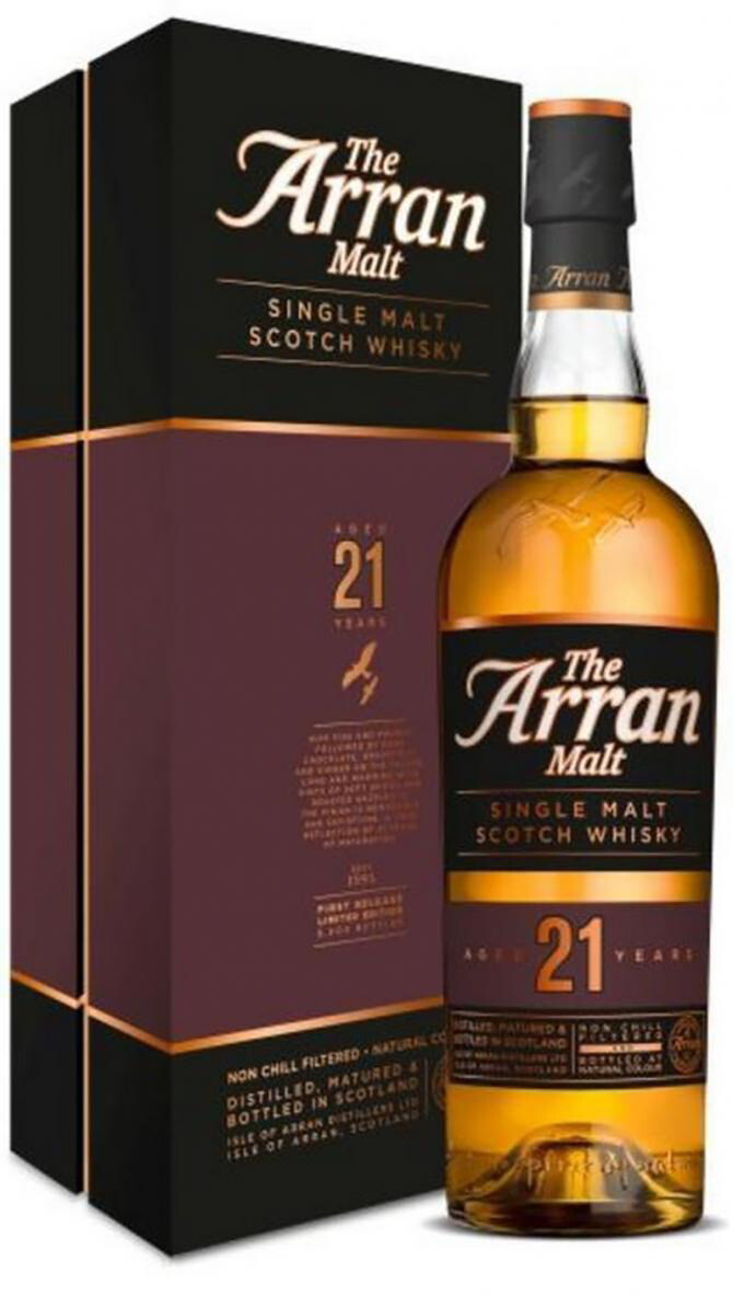 Arran 21 Years 46% 70CL