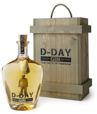 D-Day Gin Gold 40,44% 70CL