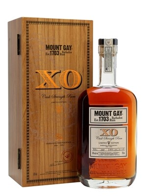 Mount Gay Extra Old Cask Strenght 63% 70CL