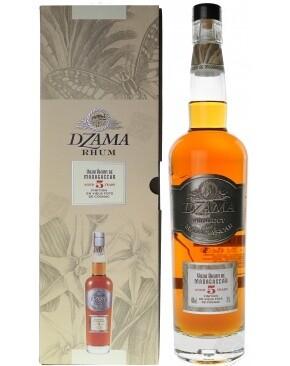 Dzama Rhum 5 Years Cognac Cask 40% 70CL