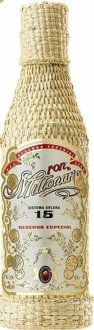 Millonario Ron Sistema Solera 15 Years 40% 70CL
