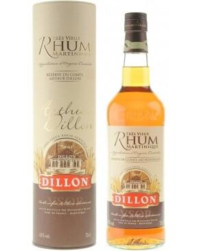 Dillon VSOP Rhum Martenique 43% 70CL