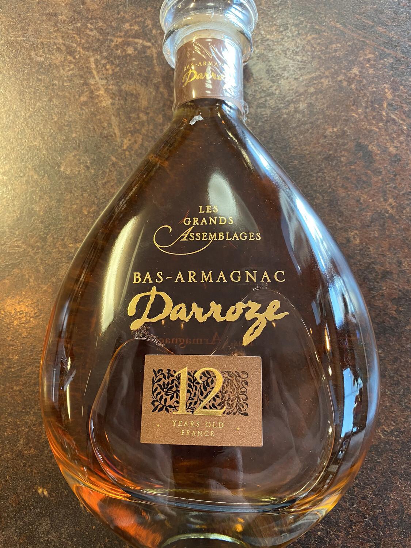 Bas-Armagnac Darroze 12Years Les Grande Assemblages 43% 70CL