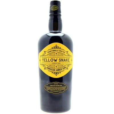 Yellow Snake Jamaican Amber Rum 40% 70CL