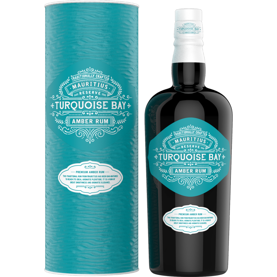 Turquoise Bay Amber Rum Mauritius 40% 70CL