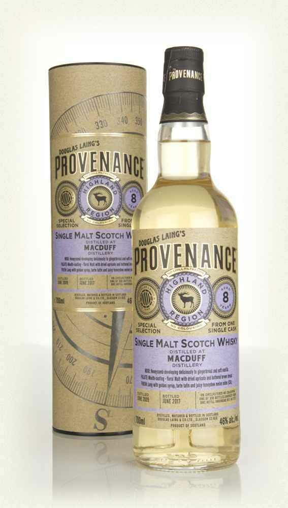 MacDuff 8 years Douglas Laing's  Provenance