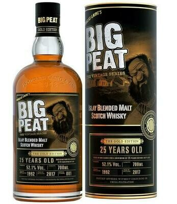 Big Peat The Vintage Series 25 Years Old 52.1% 70CL